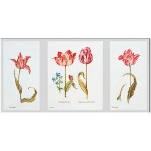 Тюльпаны Джейкоба Маррель и Джудит Лейстер, 16-й век Набор для вышивания Thea Gouverneur 786