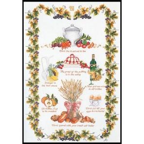 Кухня Sampler Набор для вышивания Thea Gouverneur 2027