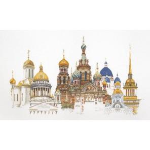Санкт-Петербург Набор для вышивания Thea Gouverneur 430
