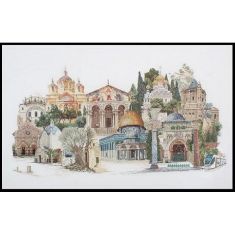 Иерусалим Набор для вышивания Thea Gouverneur 533