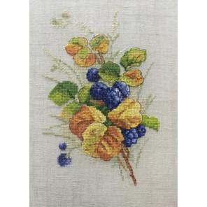 Ежевика по рисунку К. Кляйн Набор для вышивания Марья Искусница 04.009.08