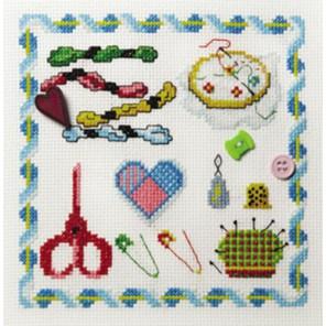 Вышивание Набор для вышивания Марья Искусница 11.004.01