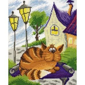 Рыжий кот Набор для вышивания Марья Искусница
