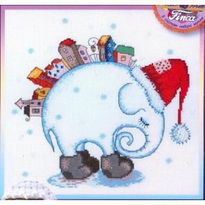 Зимний сон по рисунку Ю. Доценко Набор для вышивания Марья Искусница 13.001.05