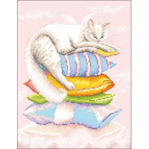 Ангел сладких снов по рисунку А. Логиновой Набор для вышивания Марья Искусница