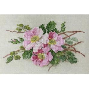 Розовые нежные Набор для вышивания Марья Искусница 06.002.26