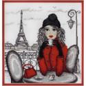 Париж по рисунку О. Куреевой Набор для вышивания Марья Искусница