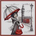 Лондон по рисунку О. Куреевой Набор для вышивания Марья Искусница 09.005.02
