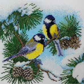 Синички Набор для вышивания Марья Искусница 03.011.05