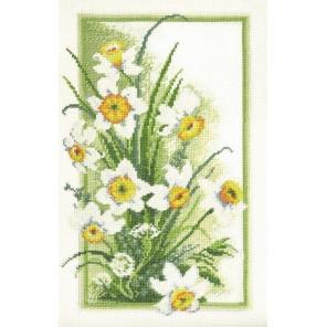 Весеннее соцветие Набор для вышивания Марья Искусница
