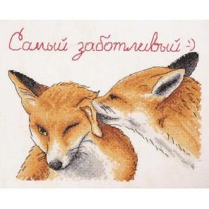 Заботливый по рисунку О. Куреевой Набор для вышивания Марья Искусница 15.002.05