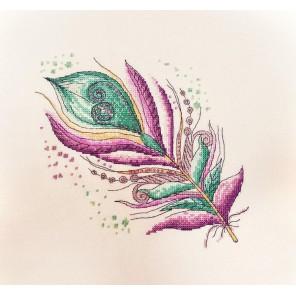 Лилово-бирюзовое Набор для вышивания Марья Искусница 16.001.01