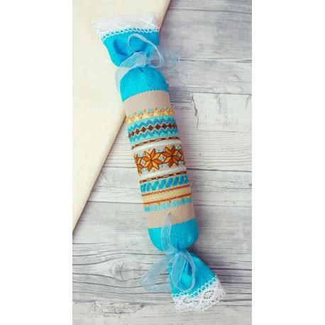 Набор для изготовления игольницы Бирюза Набор для вышивания Марья Искусница 21.002.15