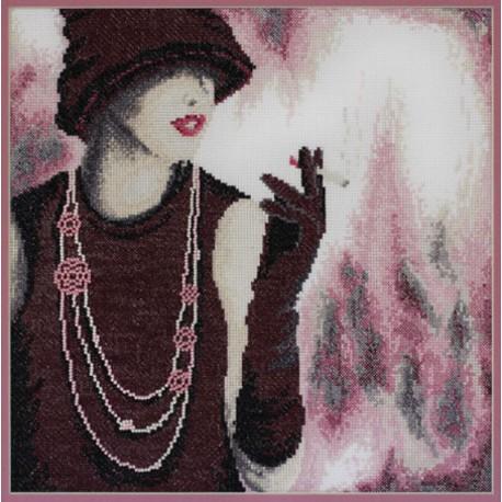 Стиль по рисунку Н. Ломакиной Набор для вышивания Марья Искусница 09.006.03