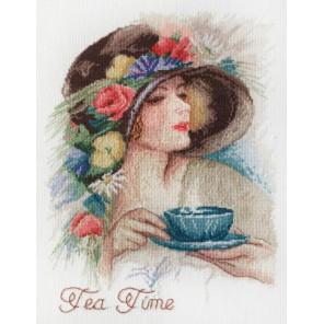 Время пить чай по рисунку Х. Фишшера Набор для вышивания Марья Искусница 06.004.08