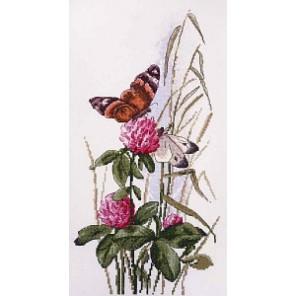 Полевой клевер по рисунку К. Кляйн Набор для вышивания Марья Искусница