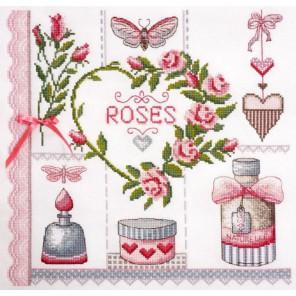 Розовое по рисунку О. Куреевой Набор для вышивания Марья Искусница 11.004.07