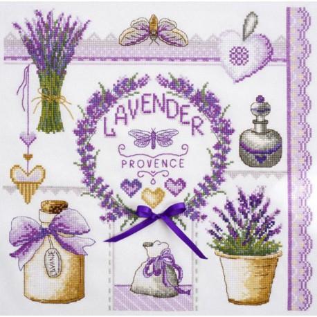 Лавандовое по рисунку О. Куреевой Набор для вышивания Марья Искусница 11.004.06