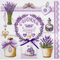Лавандовое по рисунку О. Куреевой Набор для вышивания Марья Искусница