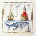 Морская Набор для вышивания Марья Искусница