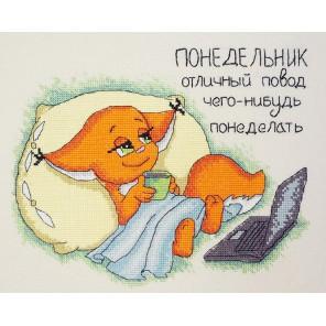 Понедельник Набор для вышивания Марья Искусница 15.002.13