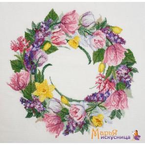 Майский венок Набор для вышивания Марья Искусница 06.002.64