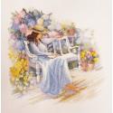 Цветущий сад Набор для вышивания Марья Искусница 08.004.02