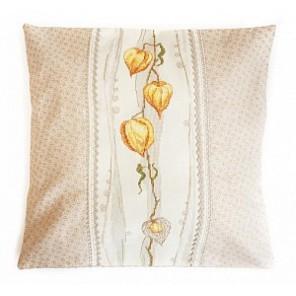 Физалис (может использоваться для создания подушки) Набор для вышивания Марья Искусница 14.001.03