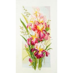 Цветение ирисов Набор для вышивания Марья Искусница 04.004.08