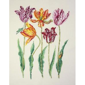 Голландские тюльпаны Набор для вышивания Марья Искусница 04.003.10