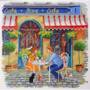Уличное кафе Набор для вышивания Марья Искусница 11.005.04