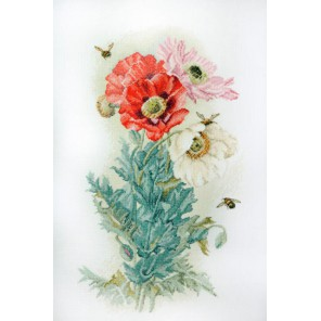 Цветок ангелов по картине П. Лонгпре Набор для вышивания Марья Искусница