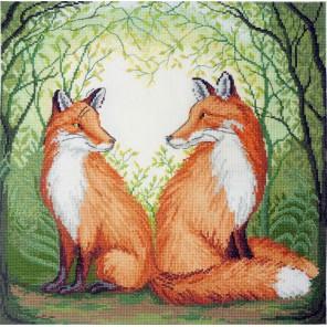 Рыжие сердца Набор для вышивания Марья Искусница 03.014.15