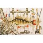 Удачной рыбалки Набор для вышивания Марья Искусница 11.006.02