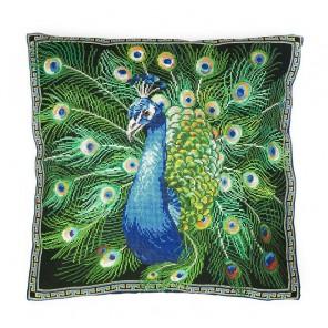 Павлин (может использоваться для создания подушки) Набор для вышивания Марья Искусница 14.001.21