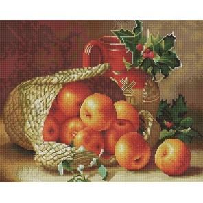 Яблочный урожай Алмазная мозаика вышивка на подрамнике Painting Diamond GF0433