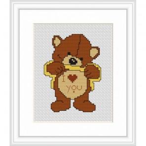 Медведь Набор для вышивания Luca-S