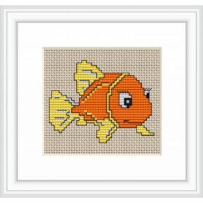 Оранжевая рыбка Набор для вышивания Luca-S