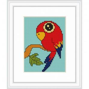 Попугай Набор для вышивания Luca-S