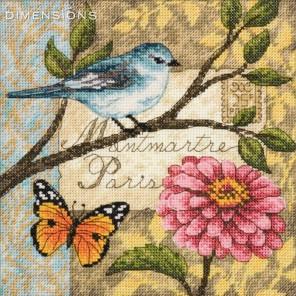 Почтовая птичка Набор для вышивания Dimensions