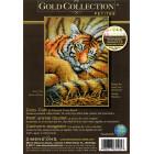 Внешний вид упаковки Спящий тигрёнок 70-65105 Набор для вышивания Dimensions ( Дименшенс )