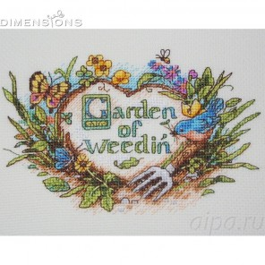 Сад сорняков Набор для вышивания Dimensions