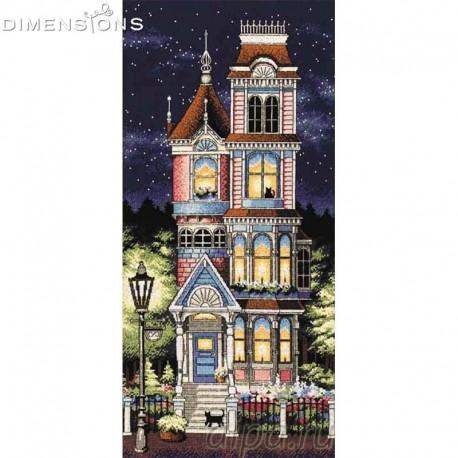 Викторианское очарование Набор для вышивания Dimensions