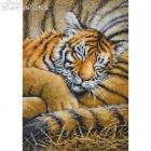 Золотая коллекция Спящий тигрёнок Набор для вышивания Dimensions