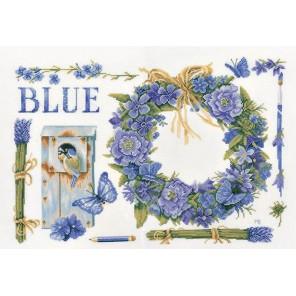 Lavender Wreath Набор для вышивания LanArte