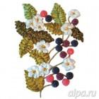 Ежевика Набор для вышивки картины лентами VL015