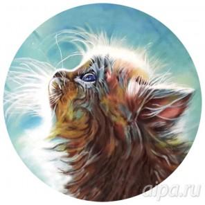 Котенок в мечтах Набор для вышивания