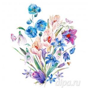 Весенние цветы Набор для вышивания