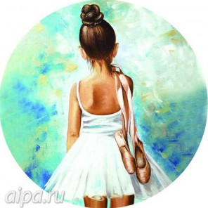 Маленькая балерина Набор для вышивания
