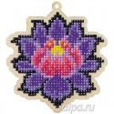 Магический лотос Алмазная мозаика подвеска Гранни Wood W0139
